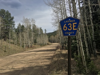 Larimer County Road 63E