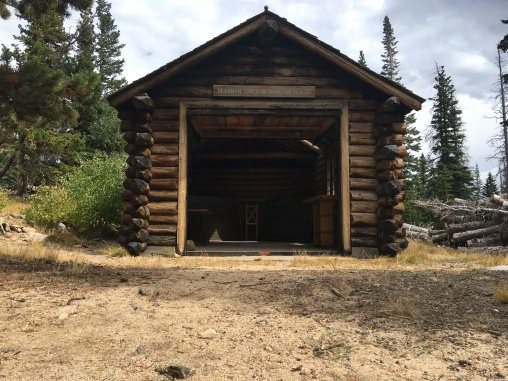 Old CCC work shed