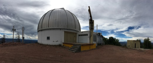 Panorama of the observatory facility