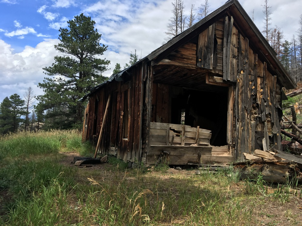 Cabin destroyed by the High Park fire